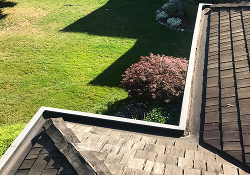 Home gutter cleaning service